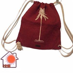 ✨2/$20✨ Alternative Canvas Drawstring Backpack